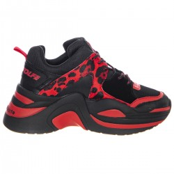 NW TRACK RED LEOPARD